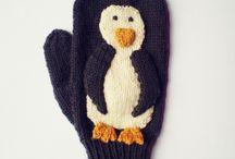 Knitting-Mittens