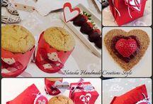 Packaging & Craftedideas by Natasha Handmade Creations Style / Scatole, scatoline, porta cupcakes, porta muffins, porta dolcetti, segnatavolo, segnaposti personalizzati.