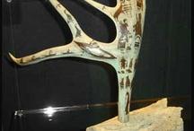 Bone antler