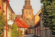 Swedish towns and citys