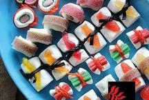 Sushi als snoep