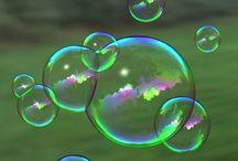 dråper og bobler
