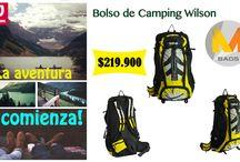Bolsos Camping / Encuentra los mejores bolsos de aventura