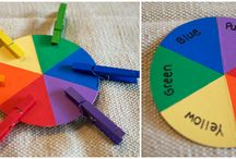 Activities for the littles / Easy, inexpensive DIY learning crafts and activities.