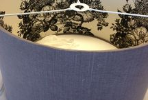 Beautiful Bespoke Lampshades / Rather than throw away your lampshade why not bespoke it to match your new colour scheme?