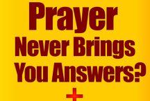 answers to my prayers