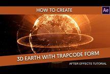 Trapcode / FORM / PARTICULAR / MIR / PLEXUS