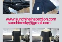 Dress quality inspection