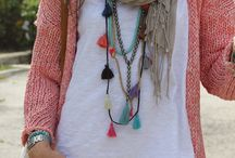 Tassel necklaces and more