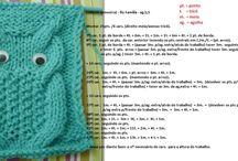 pontos de tricot