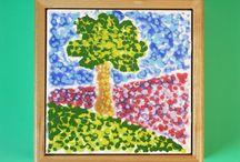 Pointillism with pizazz