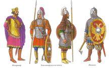 Rómaiak + más uniformis  / Hisztori