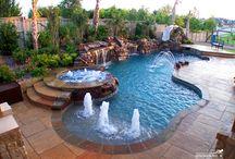 havuzlar ve şelaleler