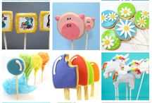 cookies on a stick / by Debbie Pennypacker