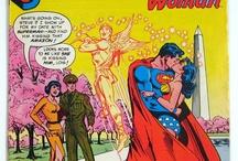 DC Mixed Super-Heroes / http://tinyurl.com/ebaymadandcracked / by Jean De La Garza