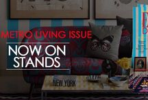 ELLEDECORIndia-Metro Living / Elle Decor latest issue June 14- July 14 hits the stand. Grab your metro living issue now