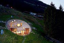 eco house, green living,