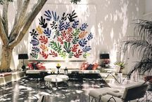 DECORATION - pièces où vivre / décoration d'interieur, design, peintures