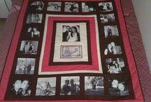 Photo memory blanket