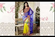Indian Sarees Latest collection / One extremely important components of any wedding are the dresses. Indian Women used to be simply limited to the selection that the local sareesshops had to offer. As a result, not only were the designs of the hot saree collectionlimited, but so where the fabric and color options. Not anymore! At GiaDesigner.in, you can find a great collection of designersarees collection2015 / by Rosie Mcglew