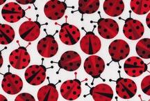Tecidos p/ patchwork, botões
