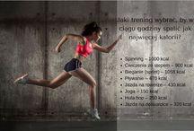Rodzaj ruchu a spalane kalorie