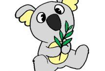 Disegni Colorati di Animali / Disegni colorati per bambini di Animali