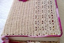 crochet book covers