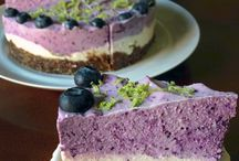 Blue berry or strawberry cheese cake