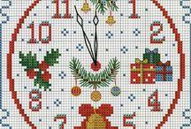 kerst borduren