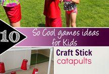 babysitting games/ideas