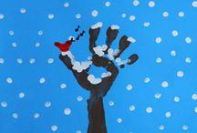 Peinture mains bb