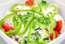 Salad, fruit, decoration