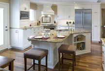 Stools for Kitchen and Counter / Finding Stools for my new kitchen counter / by Kathy Sperl-Bell