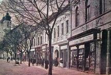 Trenčín Slovakia historical photos