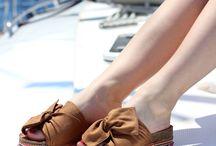 JESSICA || Γυναικεία Suede Flatform Παντόφλα Boho