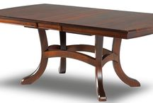 Farm Dining Room Tables / We at www.craftsmanfarmtable.com pride ourselves on offering the highest quality dining room tables, all made from solid wood, in the very latest styles.  Visit our online showroom and see the difference that quality - handmade makes.