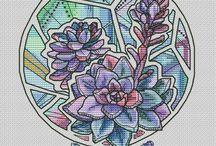 Cross-stitch / Вышивка крестиком