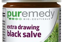 The Medicinal Line / We have a wide range of medicinal/ wound care salves that are: 100% food grade, organic, and wild harvested ingredients. Safe to ingest! Made entirely without synthetic preservatives, petrochemicals, parabens, phthalates, artificial colors, yeast, soy, gluten, or GMO's.  Cruelty free