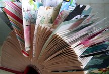 Kleine kaartjes (rolodex of boek)