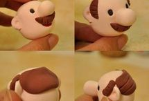 Modelling fondant or clay!
