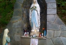 Catholic outdoor shrines and grottos / by Cynthia Betancourt