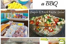 Food | Barbecue Season / Lots of great food ideas to host an amazing summer barbecue this year.  As the sun comes out everyone wants to host a barbecue and here is lots of lovely barbecue ideas from kebabs, fruit treats, veggie friendly and how to host a great party.