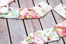 buntings diy fabric
