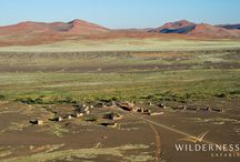 Kulala Desert Lodge - Namibia - Wilderness Safaris / Kulala Desert Lodge is located within the arid Namib Desert on the 37 000-hectare private Kulala Wilderness Reserve, and is closest to the iconic dunes of the Sossusvlei.