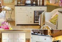 Kuchyň ve skříni