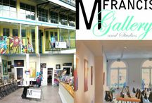 M Francis Gallery and Studios!!!