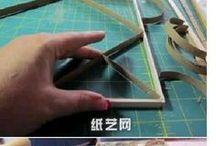 cuadros rollos de papel higienico