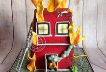 gateau pompier