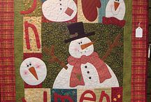 Christmas Quilting / Quilting